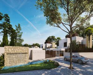 Entrada privada La Fuente Marbella