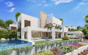 Modern and sustainable architecture
