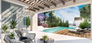 Luxury villas of Mediterranean inspiration