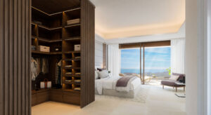 Dormitorio con vestidor La Fuente