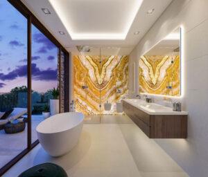 Baños espaciosos La Fuente