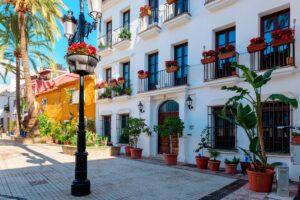 El centro de Marbella a 5 minutos andando de La Fuente