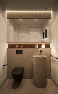 baño auxiliar la Fuente Marbella