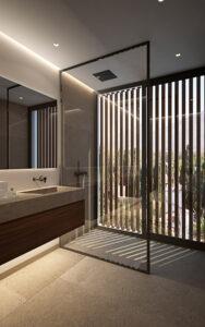 imagen baño auxiliar la Fuente Marbella
